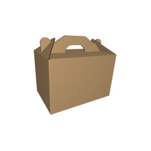 Коробка чемодан из гофрокартона CUTCNC.RU