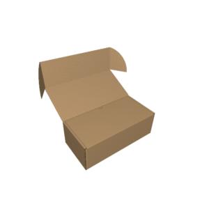 Самосборная коробка с двумя крышками-клапанами f472 - CUTCNC.RU